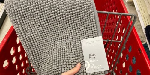 Freshen Up Your Bathroom w/ 50% Off Bath Rugs on Target.com | Prices from $4