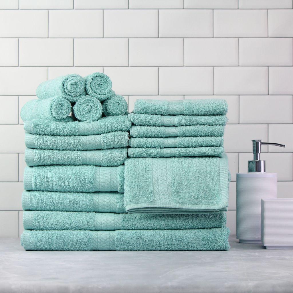 Mainstays Aqua Towel Set