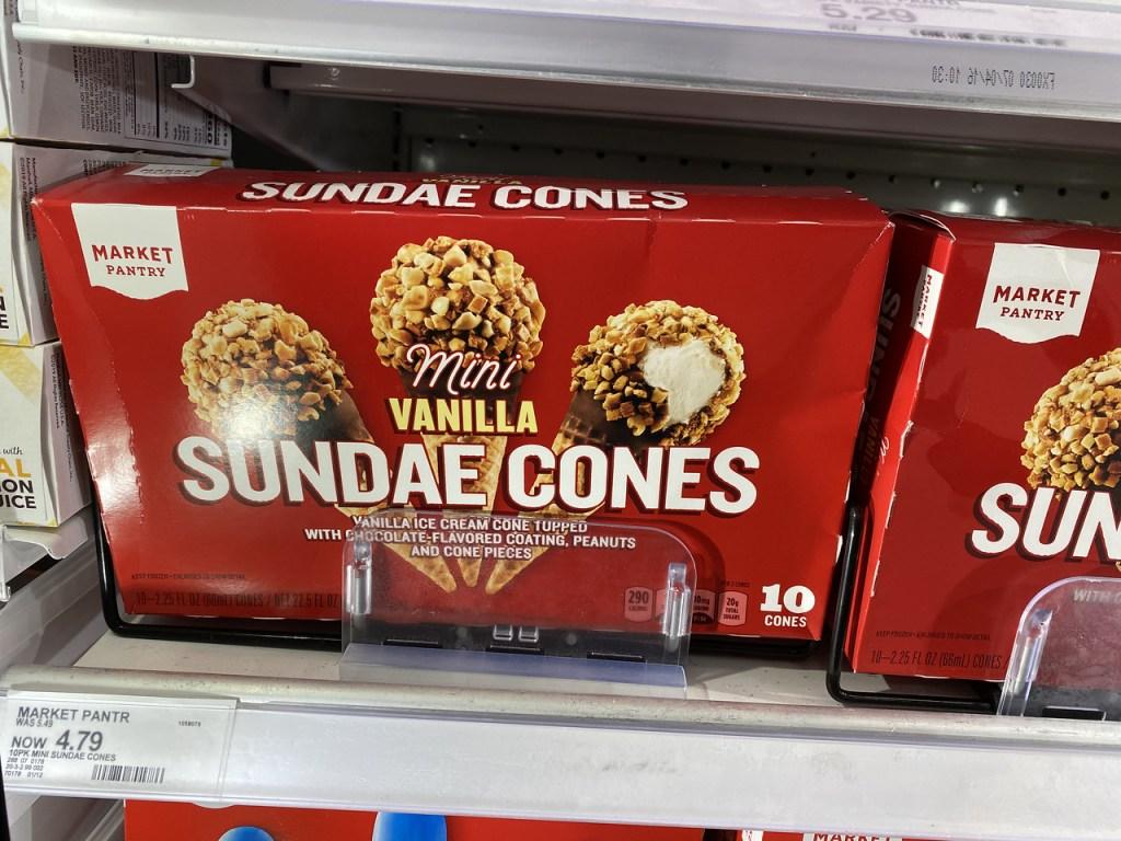 Market Pantry Cones in Target cooler