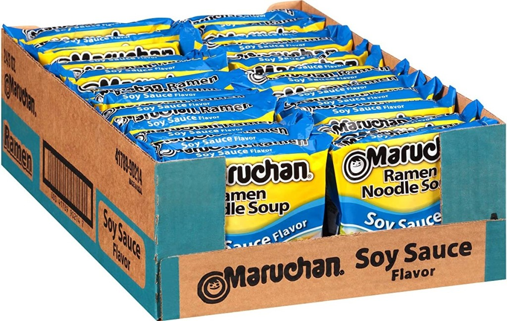 Maruchan Soy Sauce Ramen box