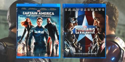 Score a Marvel Captain America Blu-ray Bundle for ONLY 400 Disney Movie Rewards Points + Get 10 Free Bonus Points
