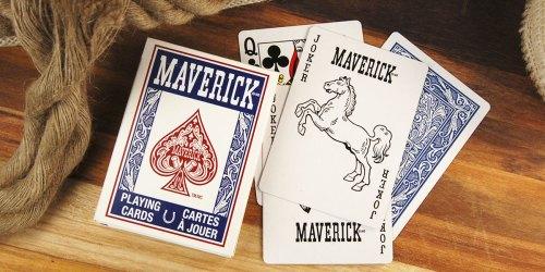 2 Decks of Maverick Playing Cards Only $1.76 on Walmart.com