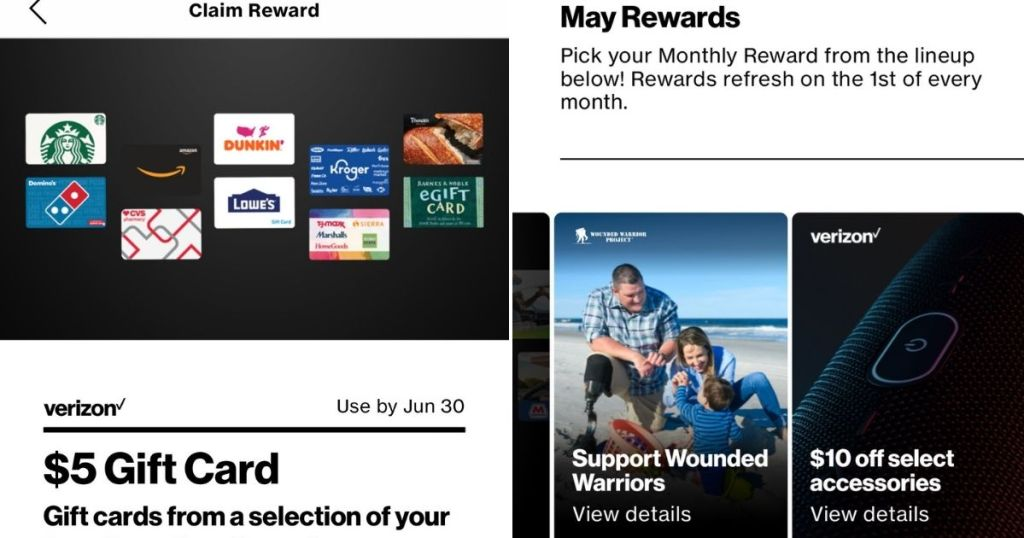 may rewards - verizon offers