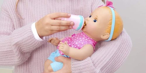 Mealtime Magic Mia Interactive Baby Doll Only $23 on Amazon or Target.com (Regularly $47+)