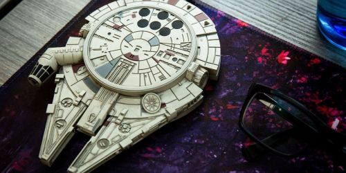 Star Wars Millennium Falcon Wireless Charger Only $25 on GameStop.com (Regularly $50)