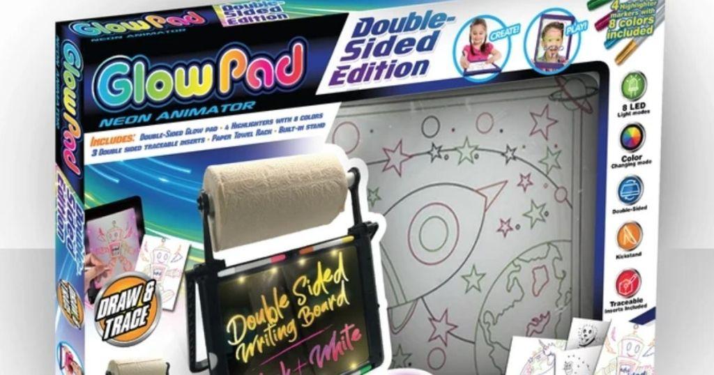 Mindscope Double-Sided Glow Pad in packaging