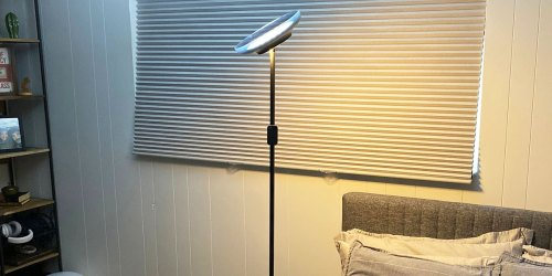 Adjustable Floor Lamp w/ Two LED Lights Only $29.99 Shipped on Amazon | Awesome Reviews