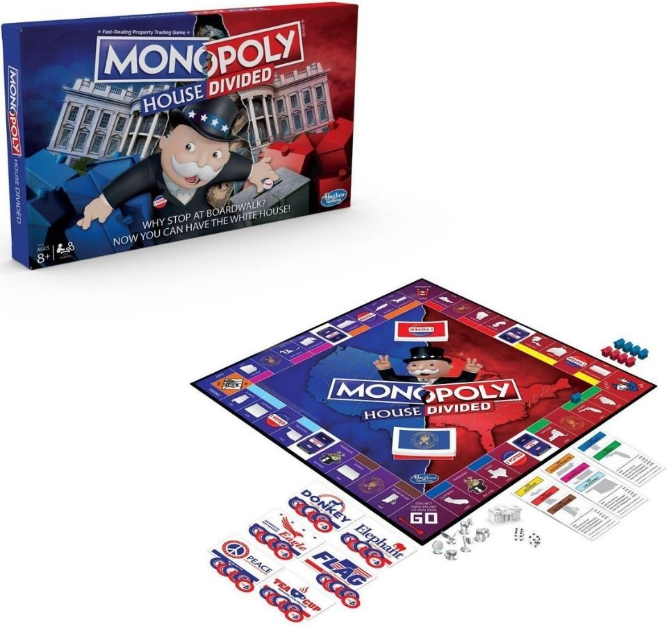Monopoly House Divided Board game