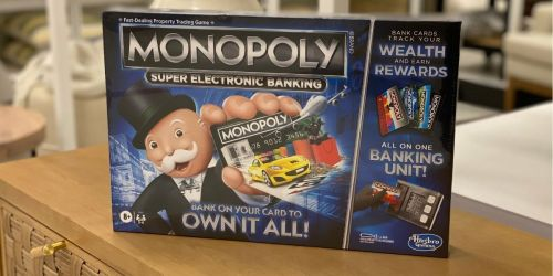 Monopoly Super Electronic Banking Game Only $13.59 on Amazon or Target.com (Regularly $25)