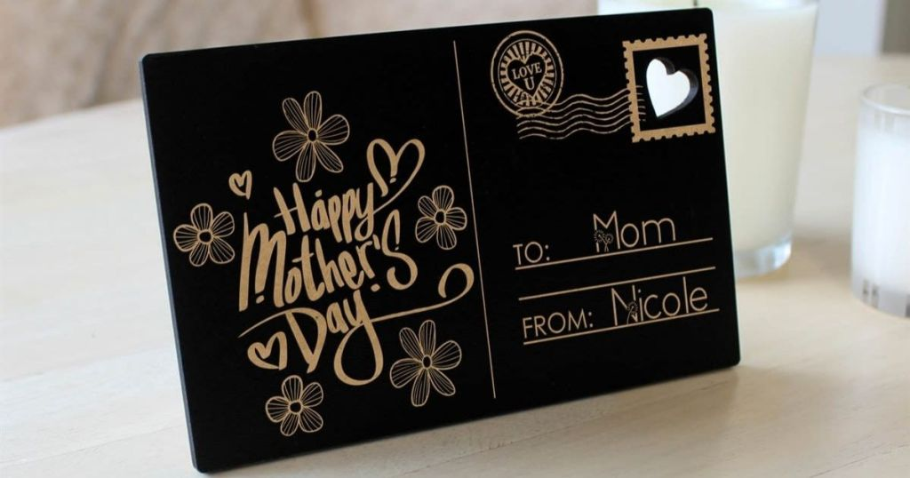 Mother's Day Postcard Decor