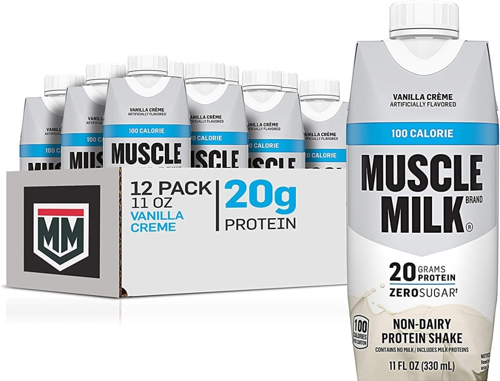 case of Muscle Milk protein shakes
