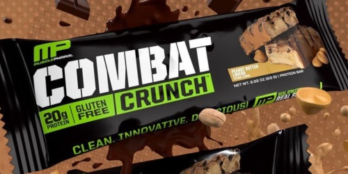 MusclePharm Protein Bar 12-Packs from $9 Shipped on Amazon | Just 75¢ Per Bar