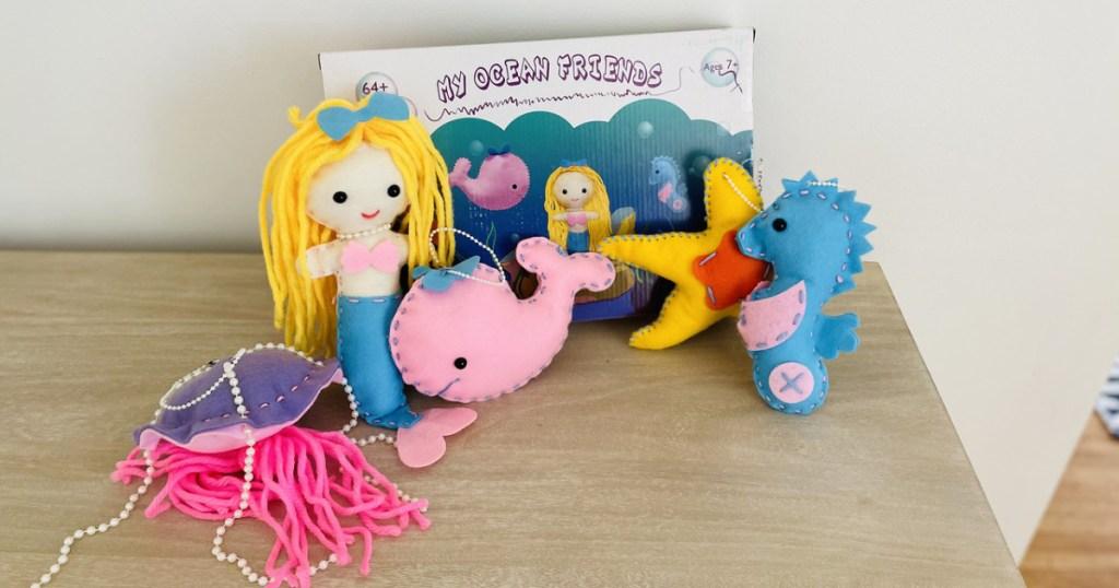 My Ocean Friends kids sewing kit