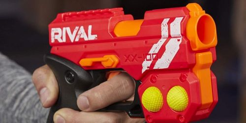NERF Rival Blaster Only $4.99 on Target.com (Regularly $10) | Stack w/ Toy Coupon for More Savings