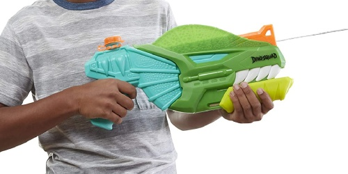 NERF Super Soaker DinoSquad Water Blaster Only $9.60 on Amazon (Regularly $15)