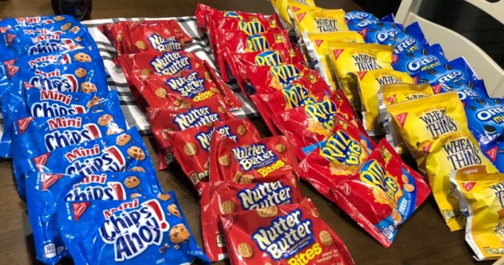 Nabisco Snacks 50 Count