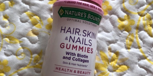 Nature's Bounty Hair, Skin & Nails Gummies 80-Count Only $4.42 Shipped on Amazon