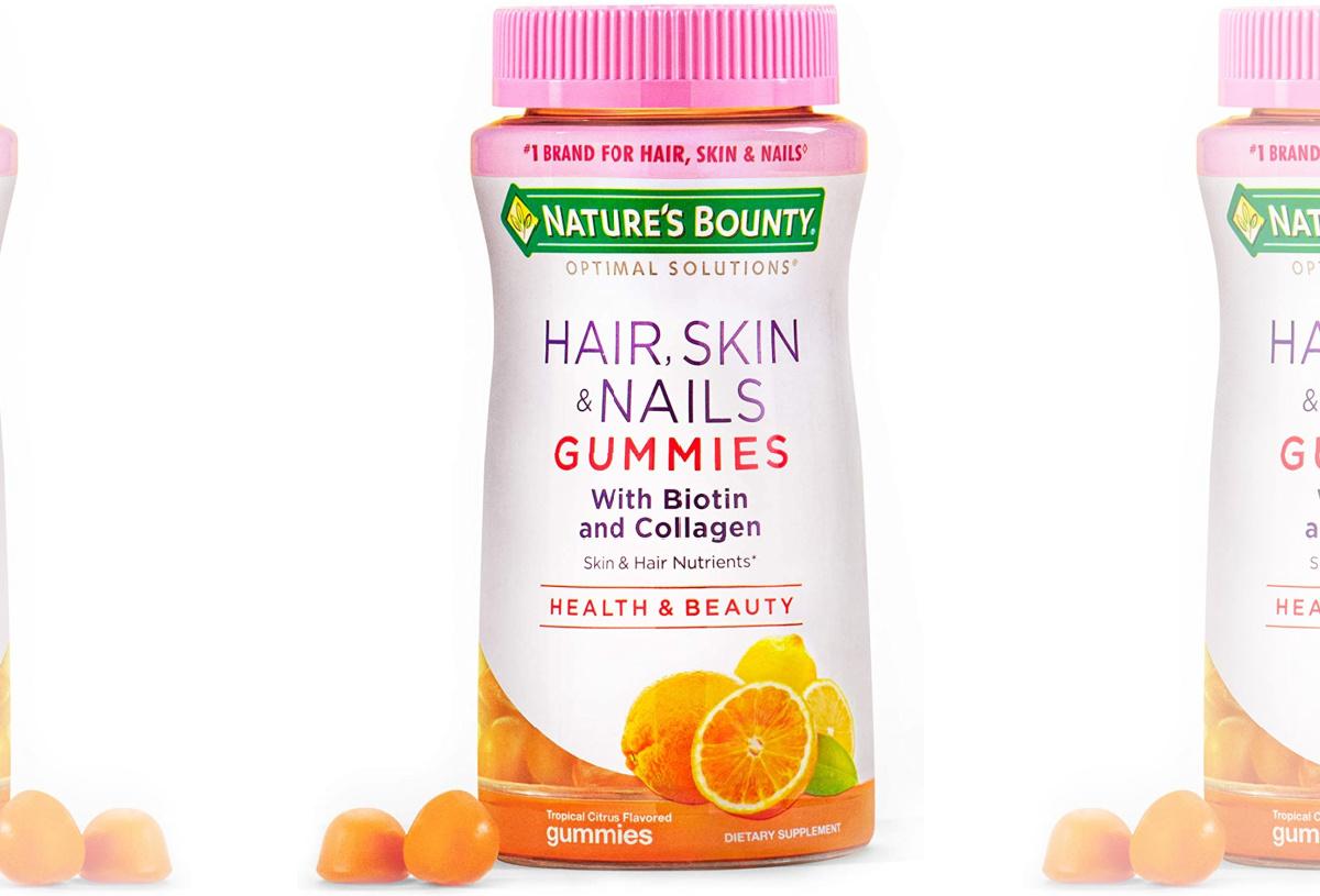 Nature's bounty brand vitamins
