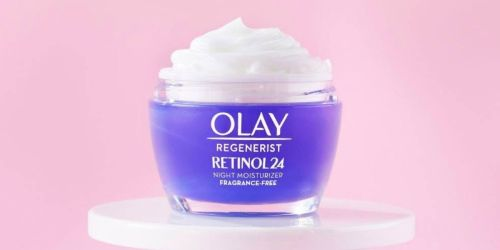 GO! Olay Regenerist Retinol Night Moisturizer Only $12 Shipped on Amazon (Regularly $47)