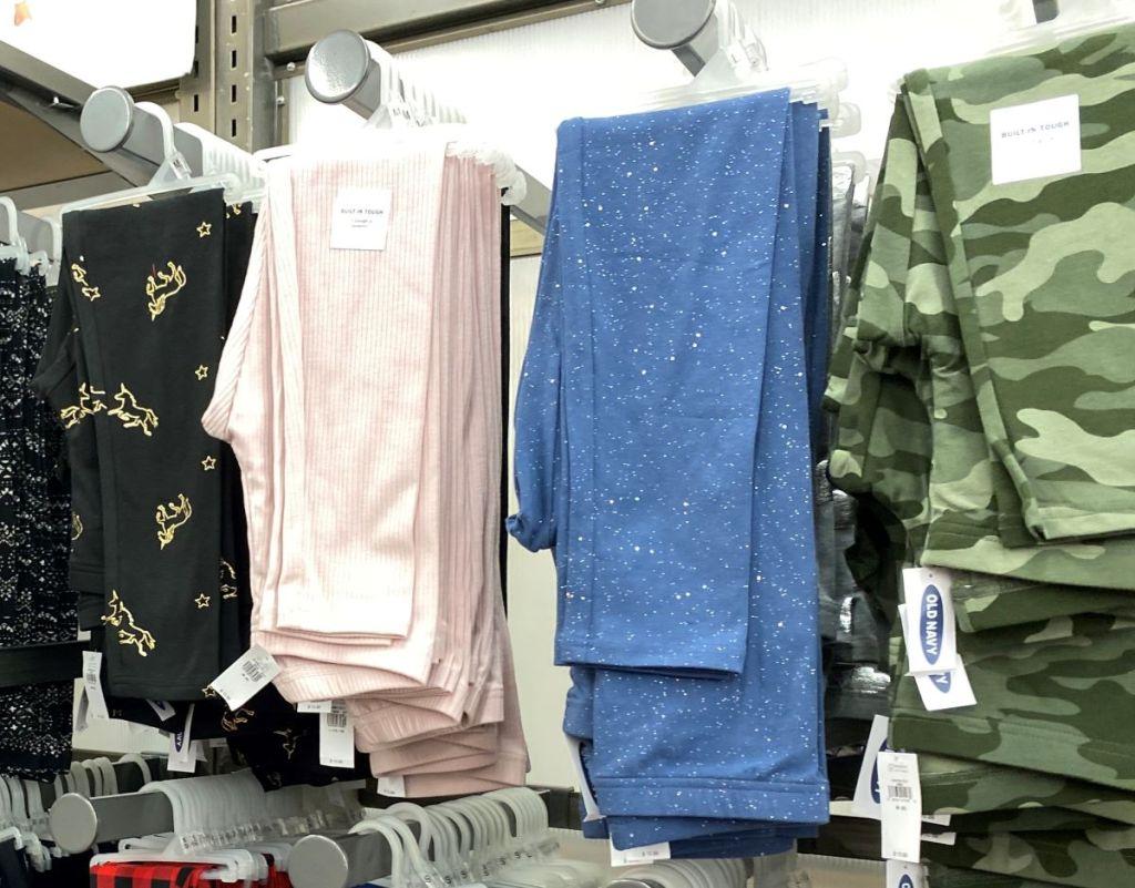 Old Navy Girls Leggings on hangers