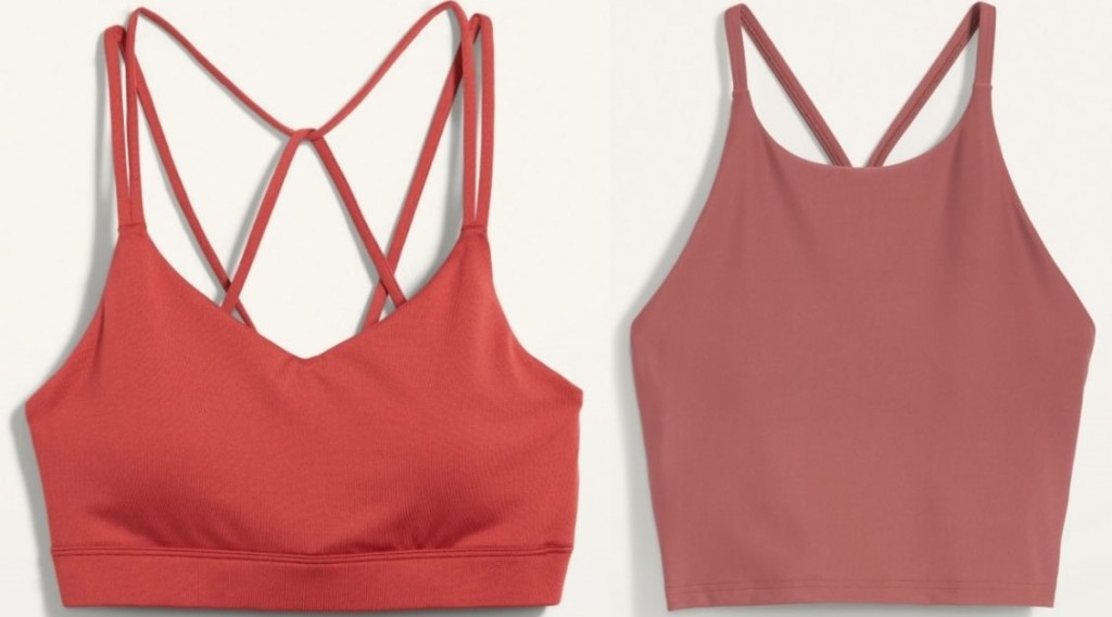 two sports bras