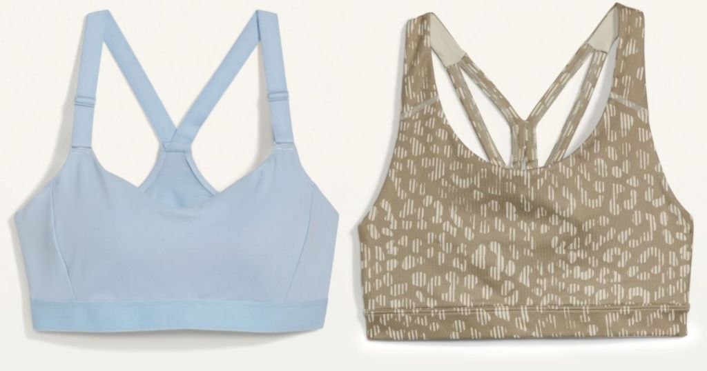 two Old Navy Sports Bras