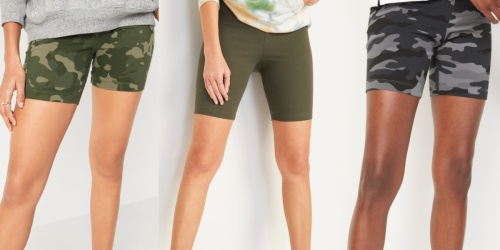 Old Navy Women's Bike Shorts Just $7 (Regularly up to $18) | Includes Plus Sizes