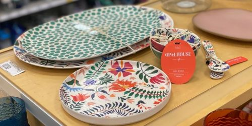 Target's NEW Opalhouse Summer Dining Collection Has a Fun Botanical-Boho Vibe & Prices Start at Just $3