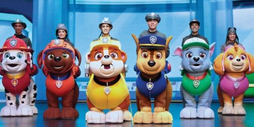 Paw Patrol Live! At Home Event Tickets Only $10 | Watch on April 24th & 25th