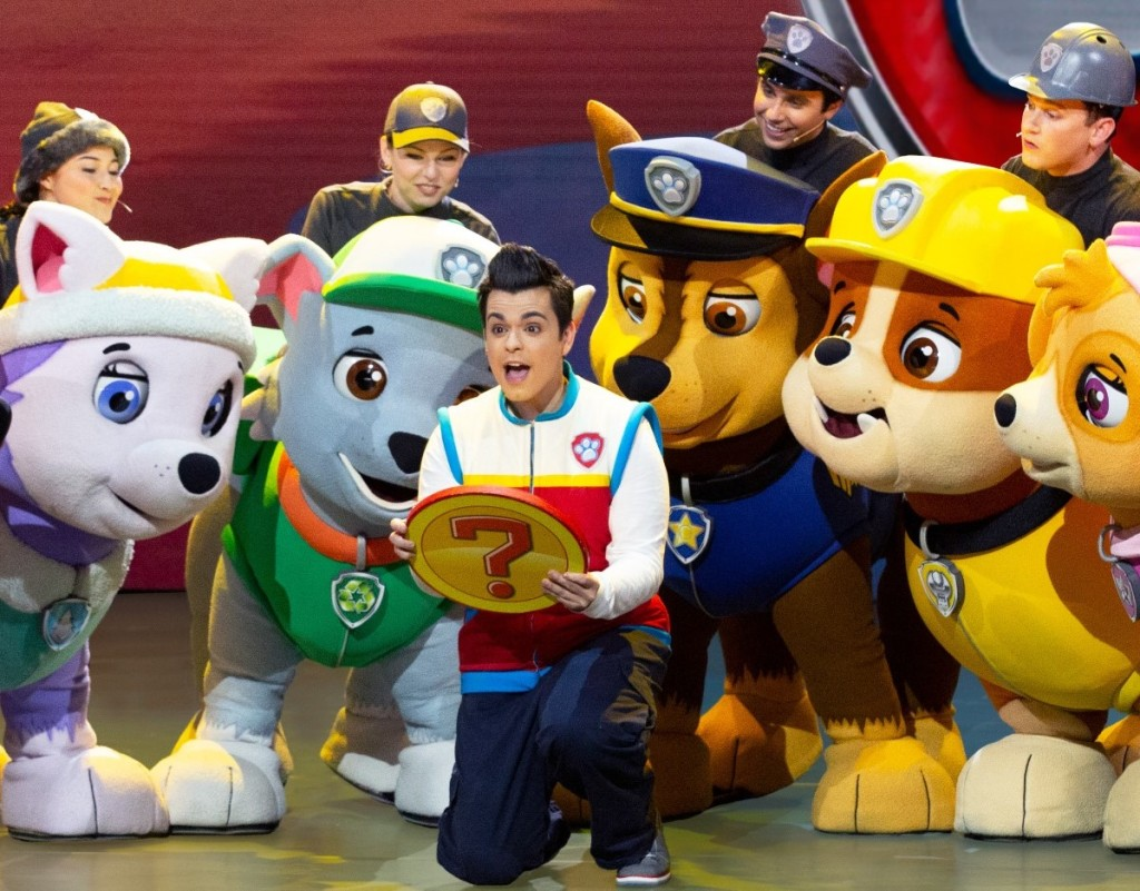 Paw Patrol characters and cast of show
