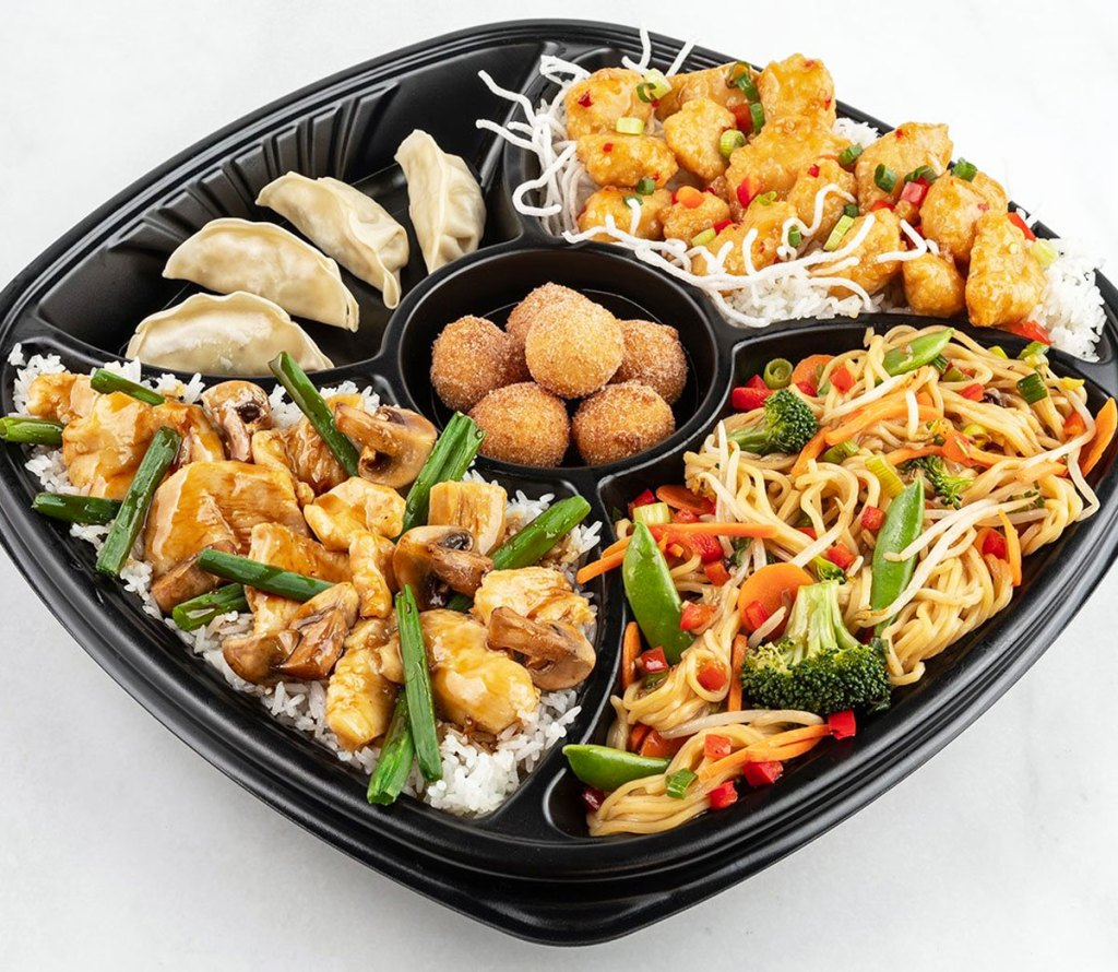 pei wei family bundle meal