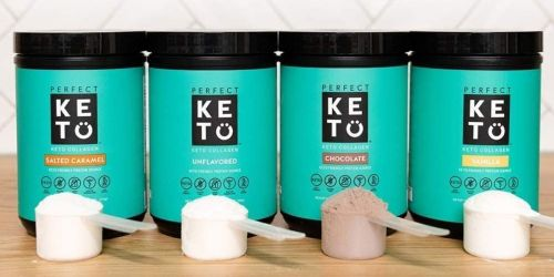 Perfect Keto Collagen Peptides Protein Powder w/ MCT Oil From $24 Shipped on Amazon (Regularly $39)