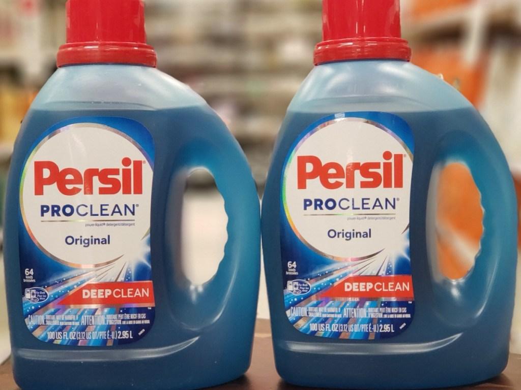 2 large bottles of Persil