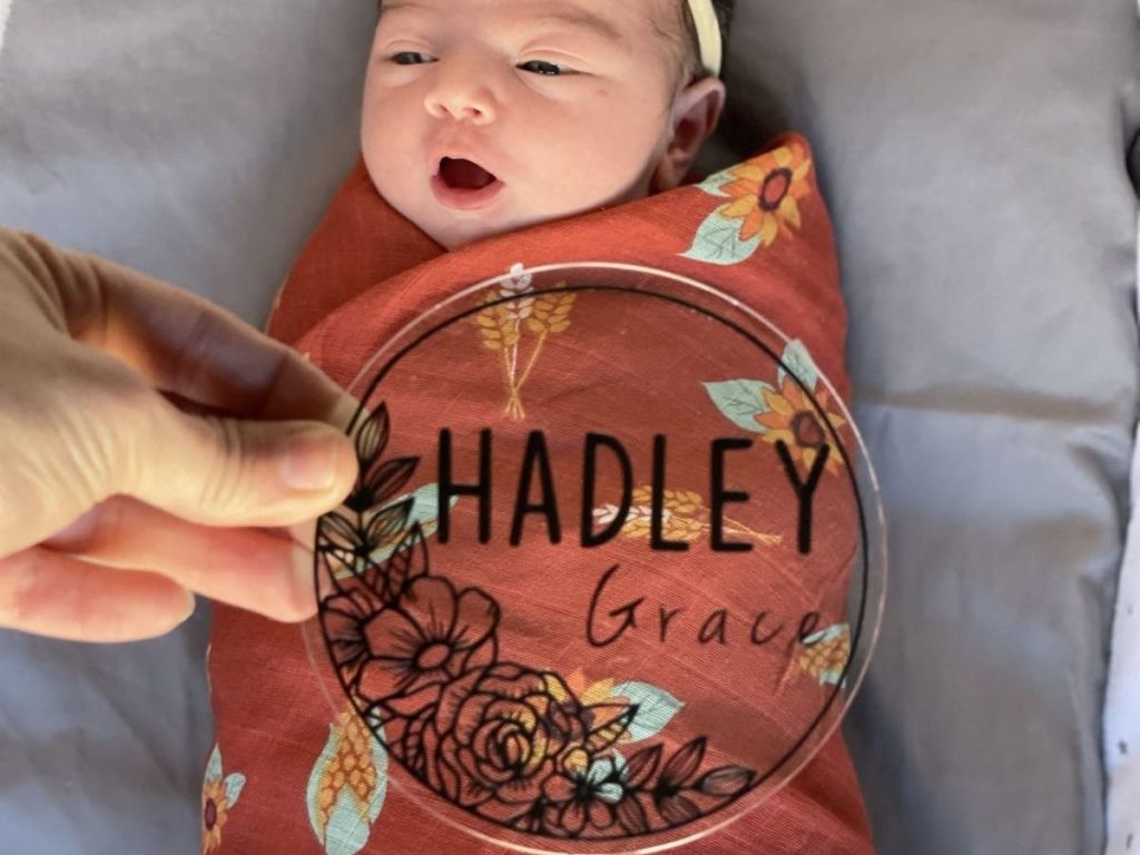 Personalized Baby Round