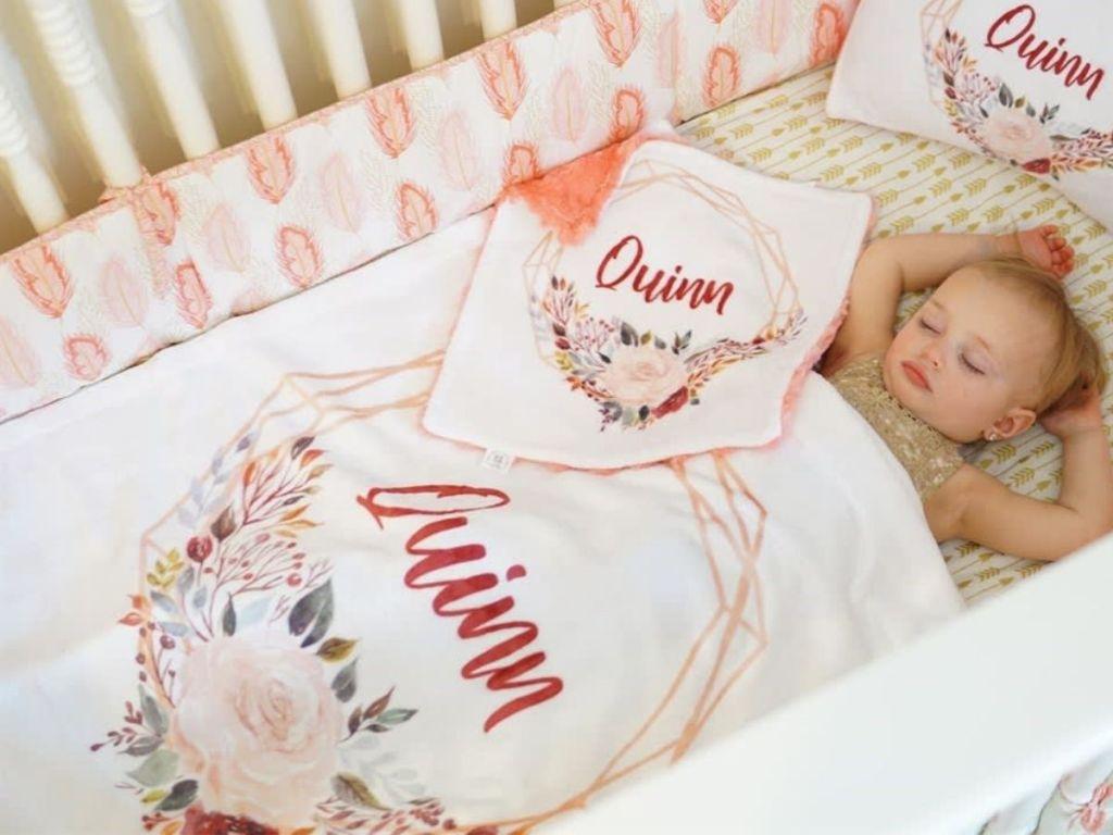 Personalized Minky Blanket