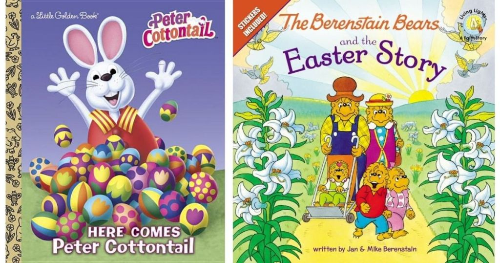 Peter Cottontail and Berenstain Bears books