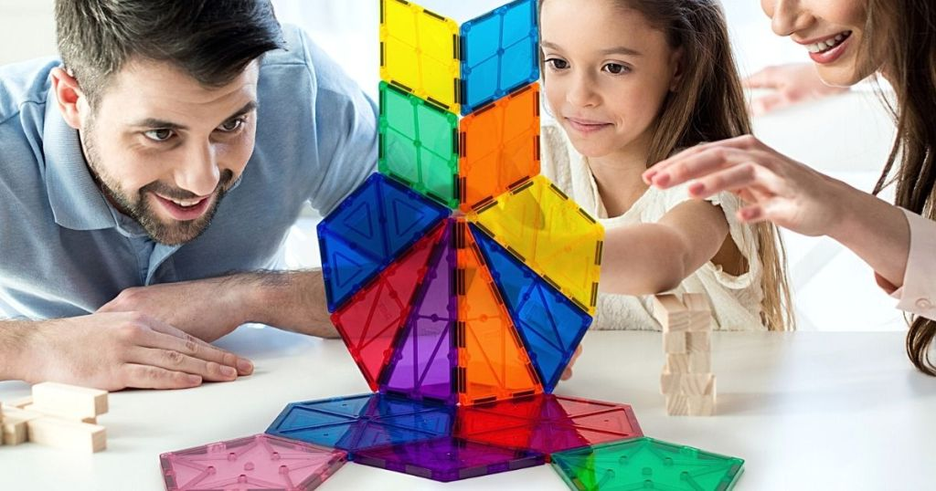 family building with PicassoTiles