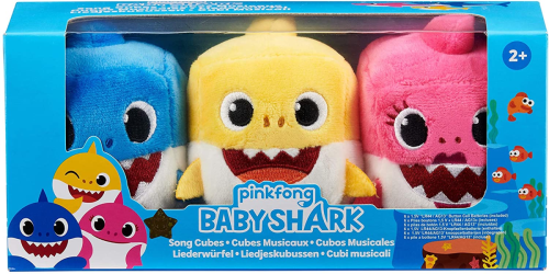 WowWee Baby Shark Song Cubes 3-Pack Just $7.50 on Walmart.com (Regularly $15)