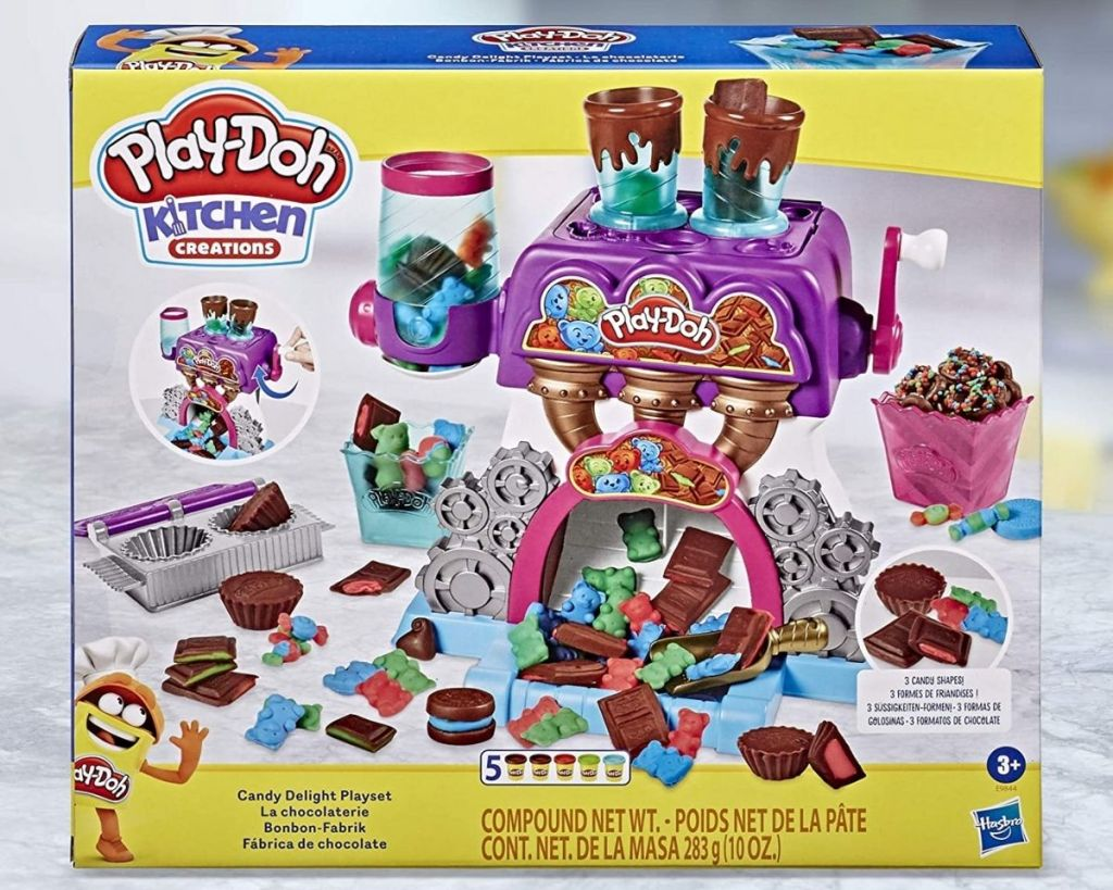 Play-Doh Kitchen Creations Candy Playset in packaging