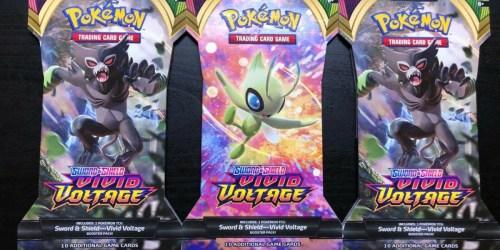 Pokémon Sword & Shield Trading Cards Booster Pack Only $3.99 on BestBuy.com