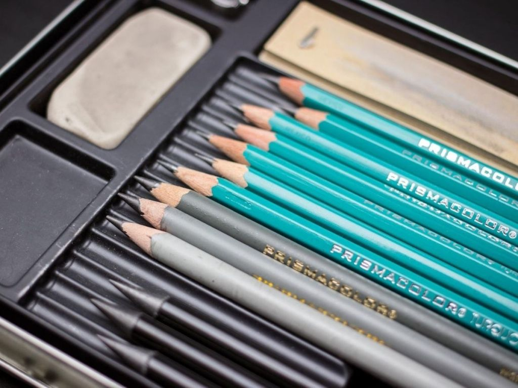 Prismacolor Graphite Pencil Drawing Set