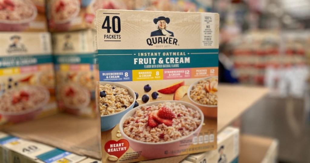 Quaker Instant Oatmeal 40 pack