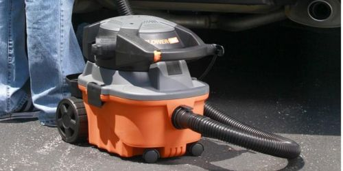 RIDGID 4-Gallon Wet Dry Vac w/ Detachable Blower Only $69 Shipped on HomeDepot.com