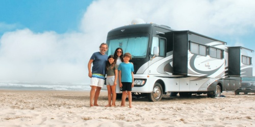 RVshare Comes w/ Delivery & Setup for an Easy & FUN Family Glamping Trip