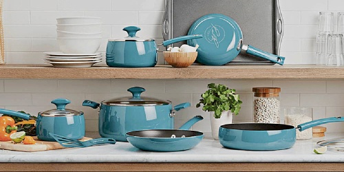 Rachael Ray 12-Piece Cookware Set Only $79.99 Shipped (Regularly $130)