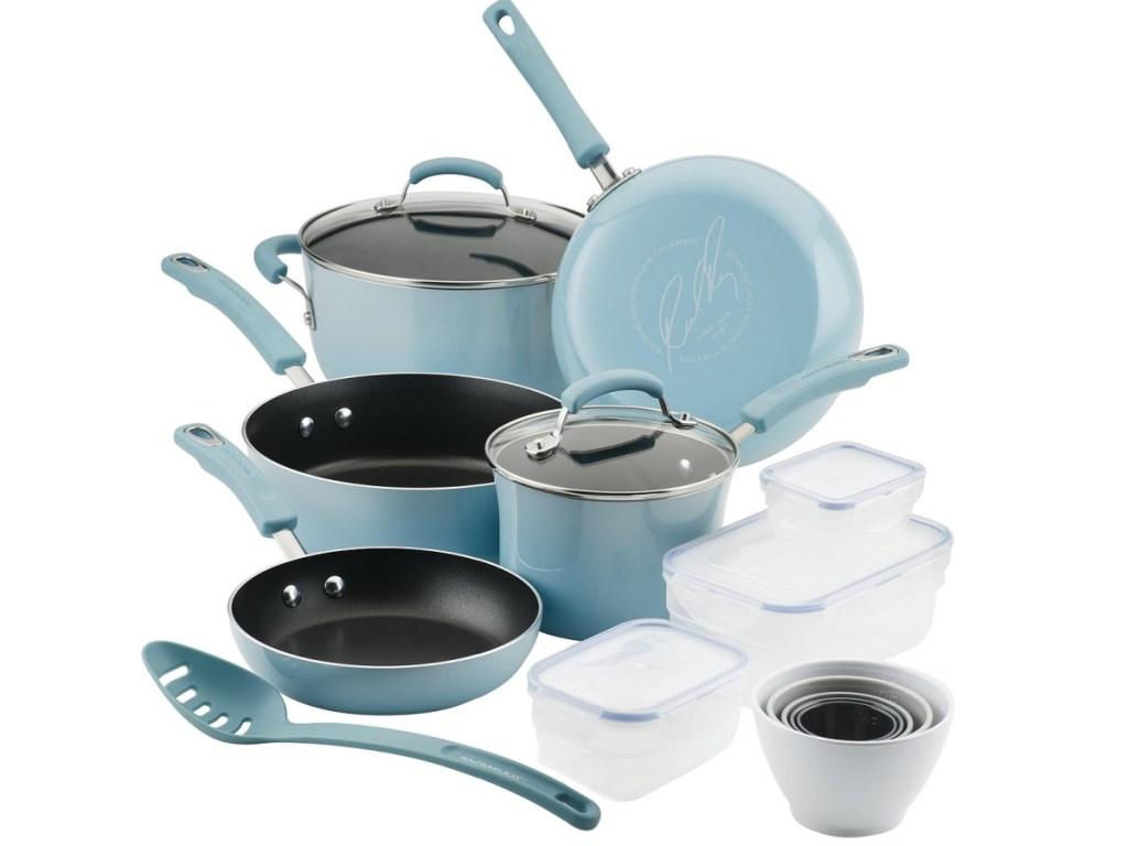 Rachael Ray Nonstick 19-Piece Cookware Set