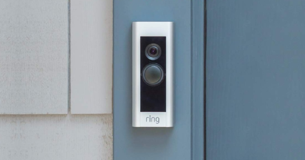 Ring Doorbell on a house