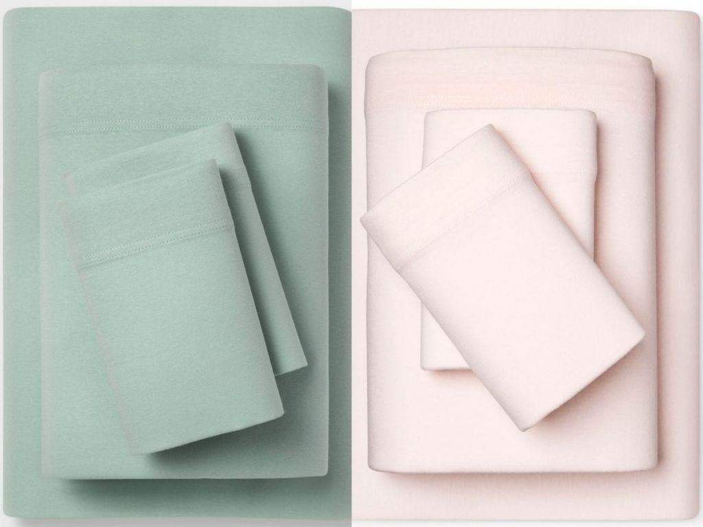 Room Essentials Jersey Sheet Sets (1)
