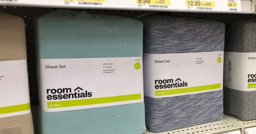 Room Essentials Jersey Sheet Sets