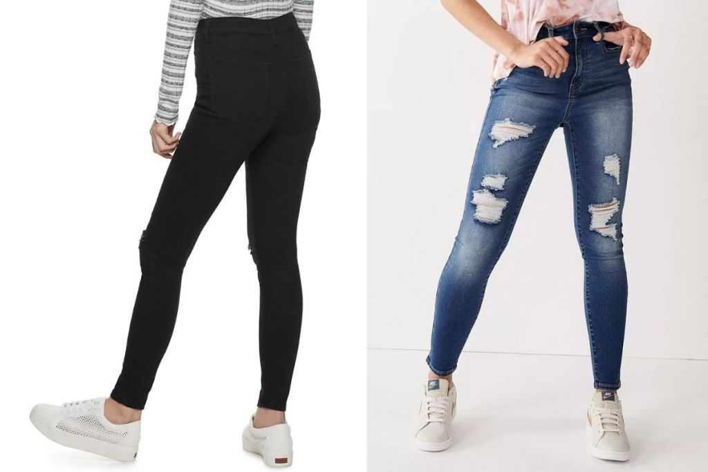 2 colors SO Juniors jeggings